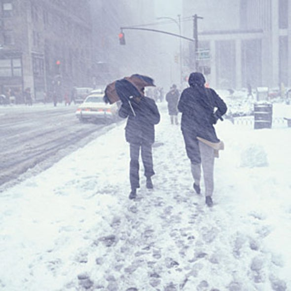 Why Global Warming Can Mean Harsher Winter Weather