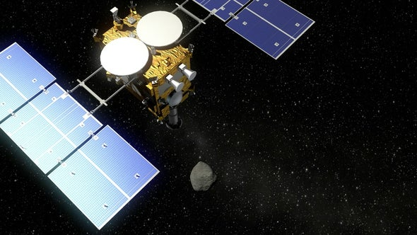 Japan's Hayabusa 2 Spacecraft Nears Its Target, the Asteroid Ryugu