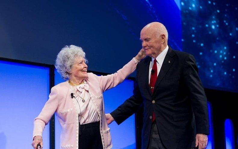 John Glenn, First American in Orbit, Falls Ill in Ohio