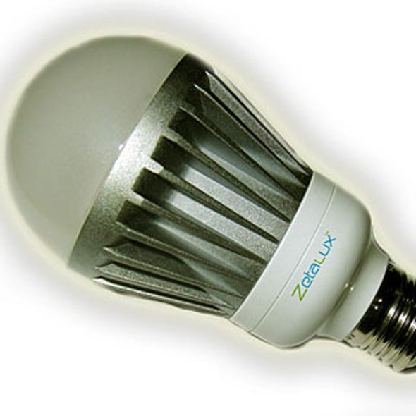 Today, Compact Fluorescents--Tomorrow, LED Bulbs?