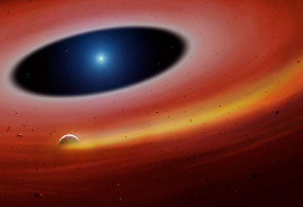A Heavy-Metal Planet Orbiting a Dead Star May Foretell Our World's End