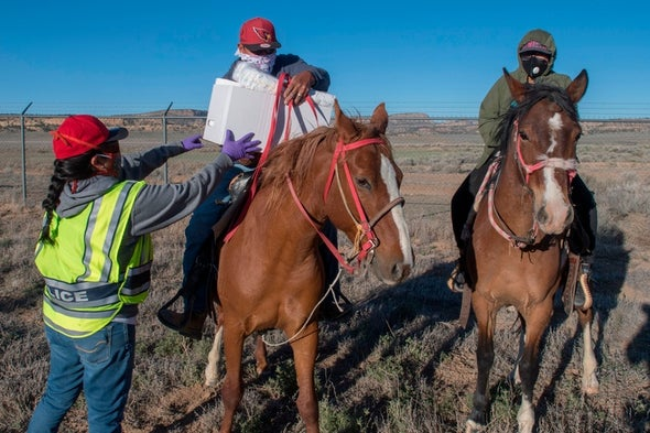 Coronavirus Is Attacking the Navajo 'because We Have Built the Perfect Human for It to Invade'