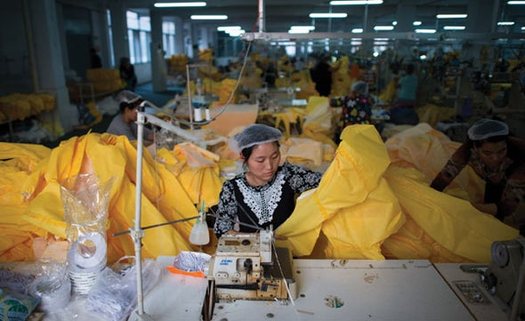 Where Ebola Suits Are Made