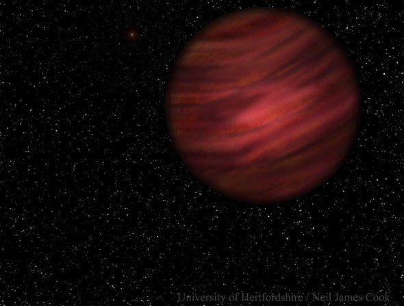 Rogue Planet Finds Home in Biggest Solar System Ever Seen