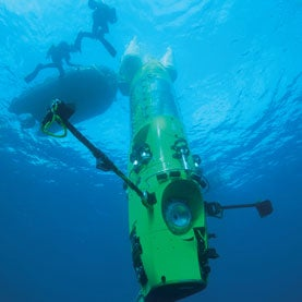 James Cameron Donates His Tricked Out Ocean Sub to Science