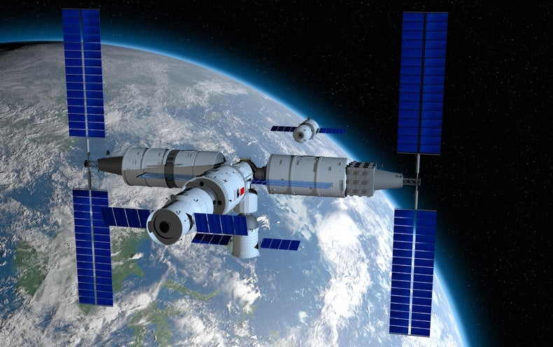 China to Launch First Module of Massive Space Station