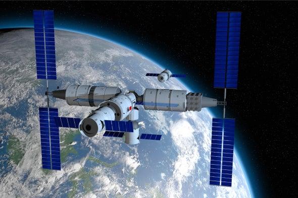 中国旨在推出大型空间站的第一模块