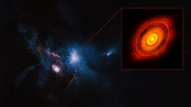 Spectacular View of Newborn Planetary System Captured by Radio Telescope