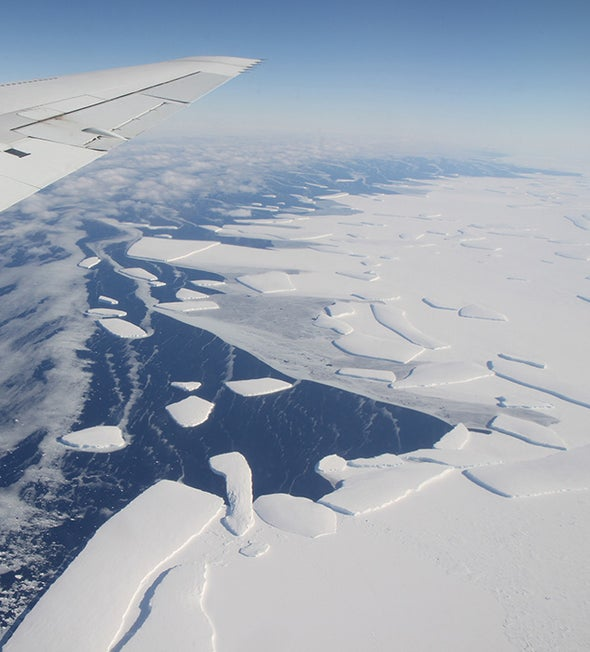 Melting Antarctic Glaciers Create Iron Hot Spots