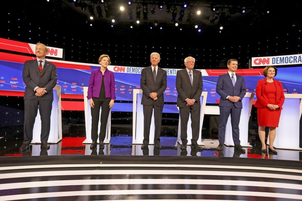 Democratic Candidates Agree on Climate Change, Except for Role of Natural Gas
