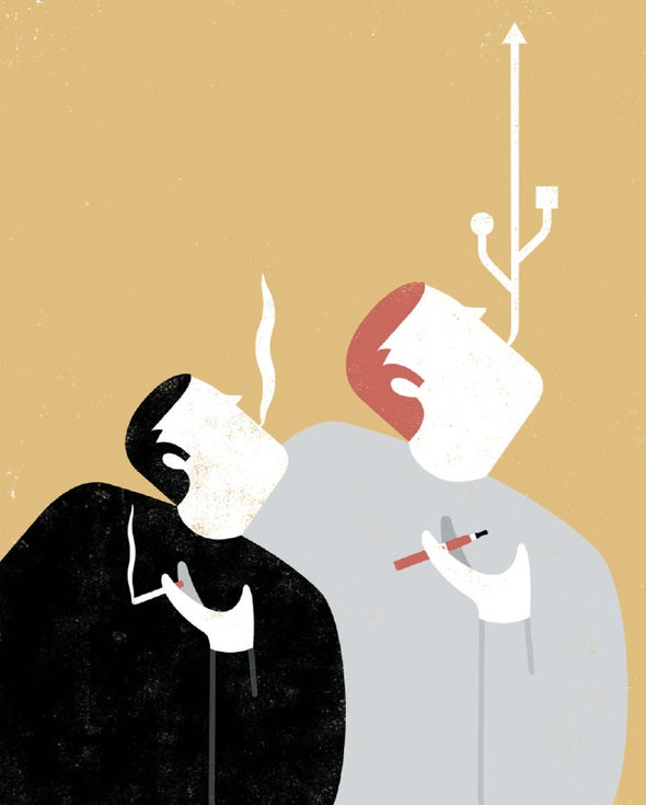 They're Far from Harmless, but E-Cigarettes Can Get People off Tobacco