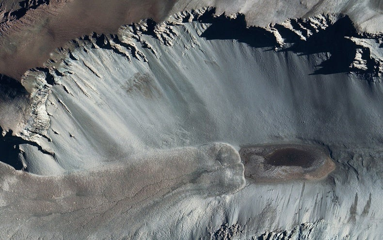 How Did This Weird, Super-Salty Pond Form in Antarctica?