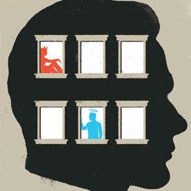 head with windows