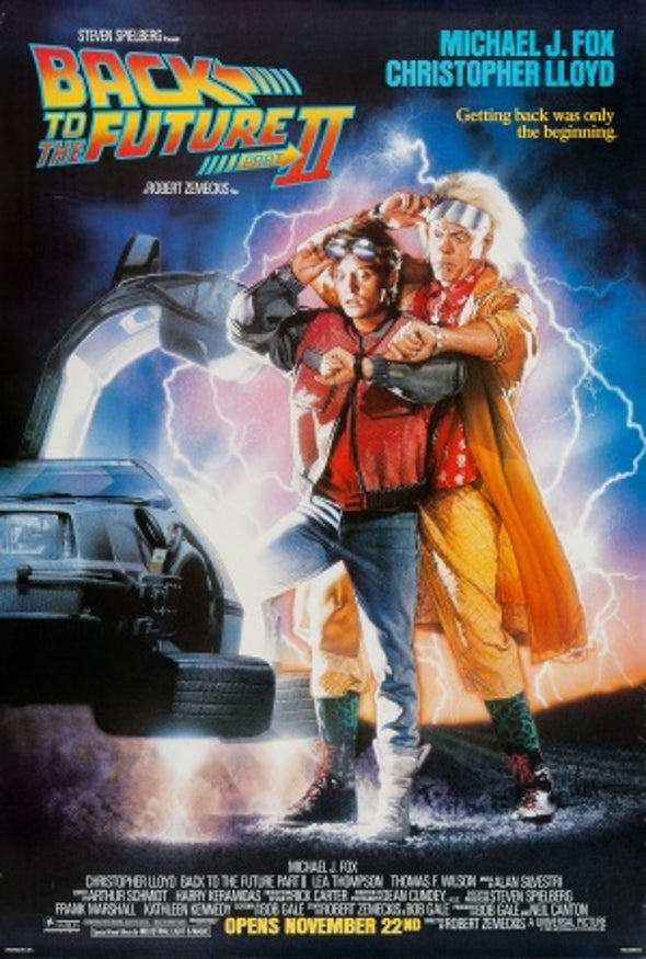 <em>Back to the Future, Part II</em> Predicted Techno-Marvels of October 21, 2015