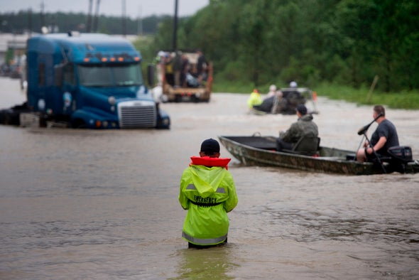 Hurricane Harvey: Houston Has No Quick Way to Get Rid of Floodwater