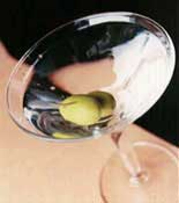 Moderate Alcohol Consumption Clouds Brain's Ability to Detect Mistakes