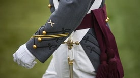 West Point Uniforms Signify Explosive Chemistry