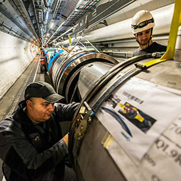 Physicists Now Want a Very Large Hadron Collider