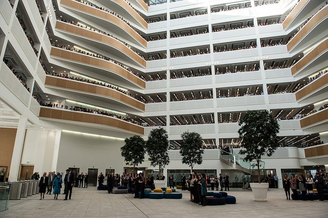 Cooler Buildings Save Energy