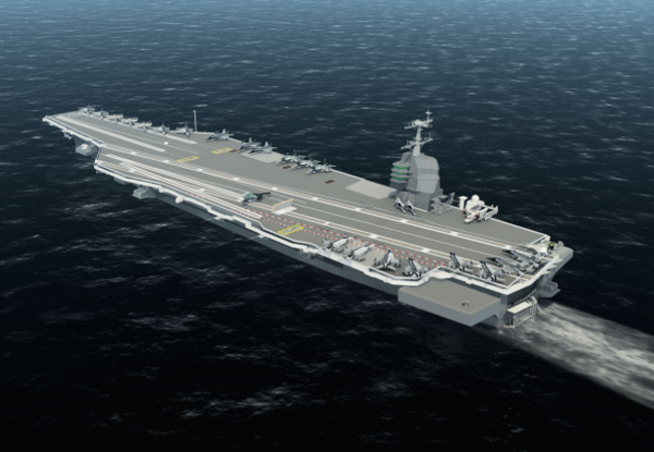 America's first next-gen aircraft carrier takes high tech to sea