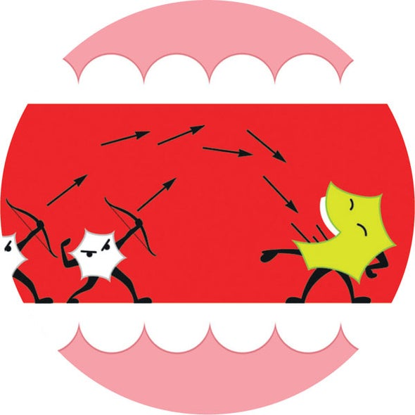 Gingivitis Bacteria Triggers a Tailspin in Your Mouth