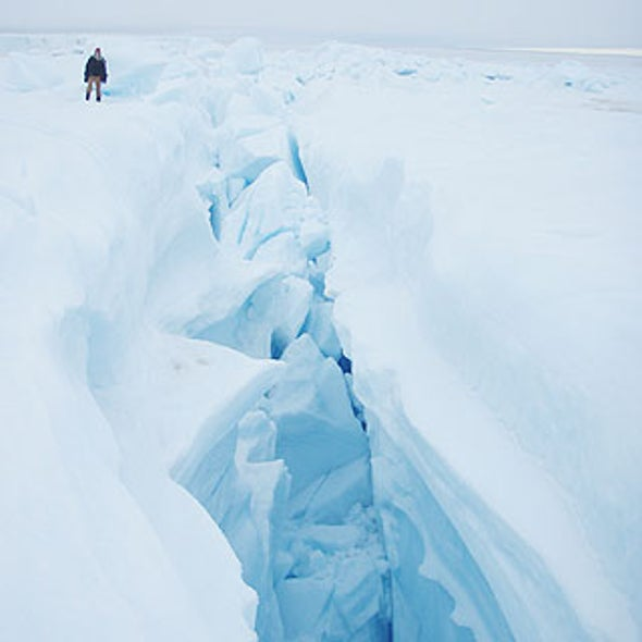 Ice Escapades: Greenland's Ice Sheet Is Speeding to the Sea