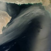 Spectacular Plumes of Dust Reach across the World [Slide Show]