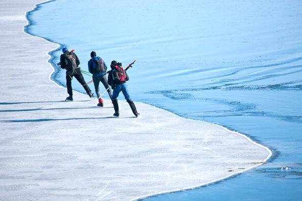 Ice Drownings Expected to Rise as Winters Warm