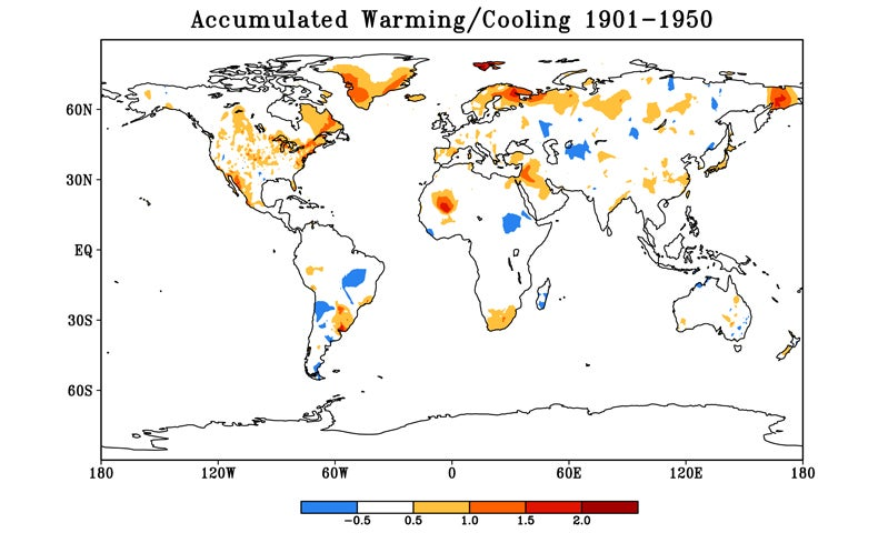 Russia and Canada Heat Up Faster Than the Arctic [Slide Show]