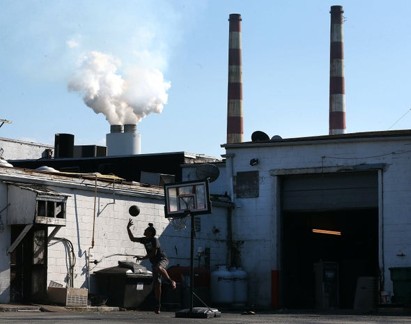 People of Color Breathe More Unhealthy Air from Nearly All Polluting Sources