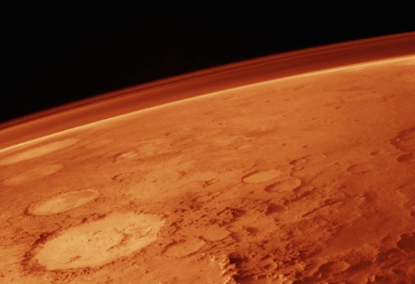 Mars's Massive Erupting Clouds Still Puzzle Scientists