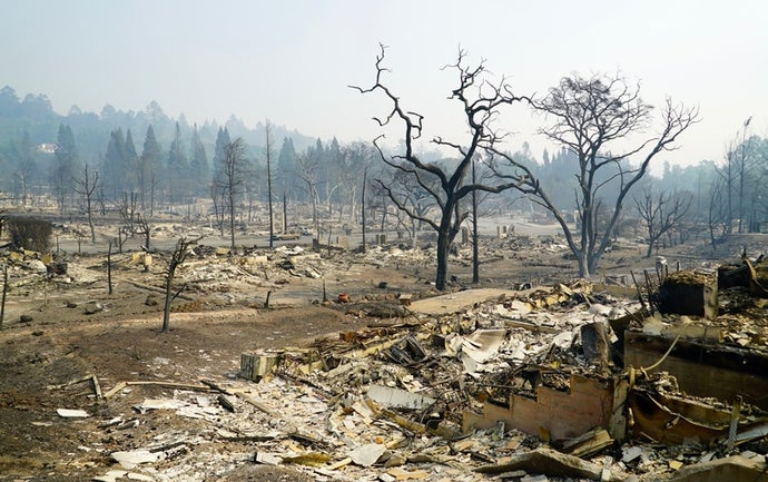 California Wildfire Survivors Are Building Back—at a Cost