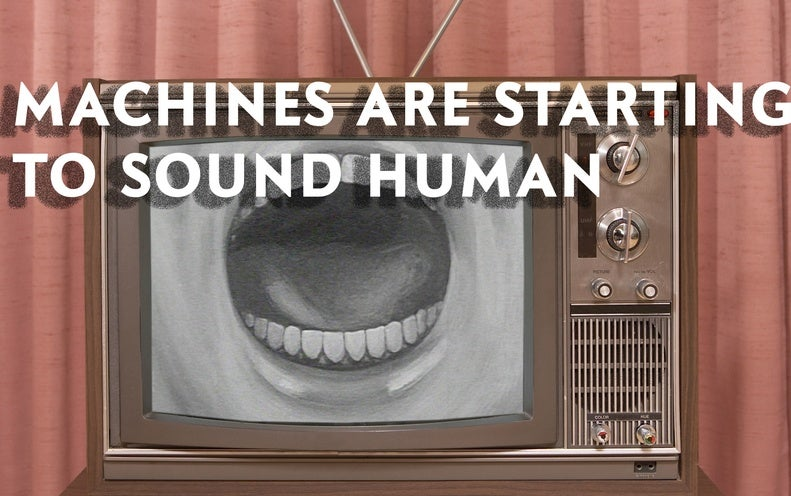 Artificial Intelligence Is Now Shockingly Good At Sounding Human