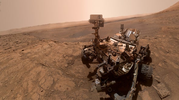 NASA's Curiosity Rover Finds Unexplained Oxygen on Mars