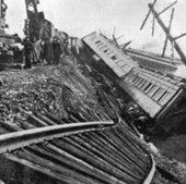 Train Tracks Collapse: