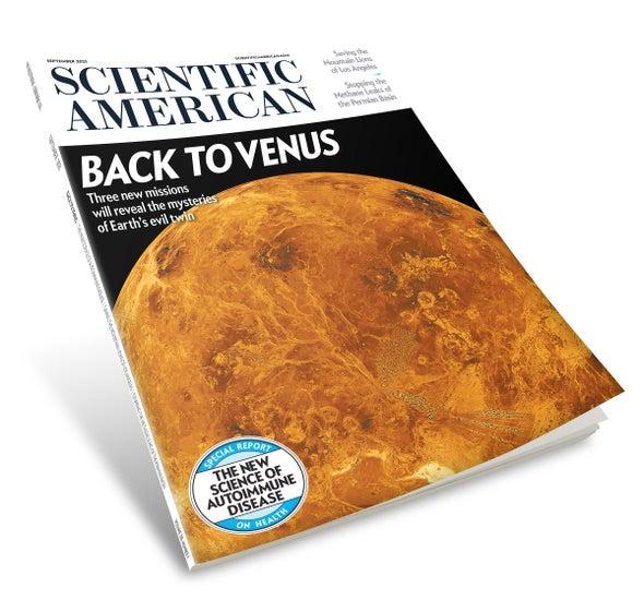 Progress on Autoimmune Disorders, Mountain Lions and Venus
