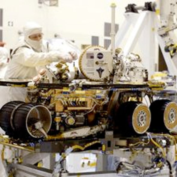 Unfree Spirit: NASA's Mars Rover Appears Stuck for Good