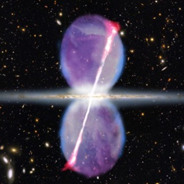 Vestiges of Violence: Towering Gamma-Ray Jets Point to Past Outbursts from Milky Way's Black Hole