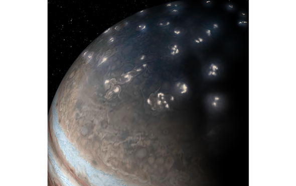 Surprise! Jupiter's Lightning Looks a Lot Like Earth's