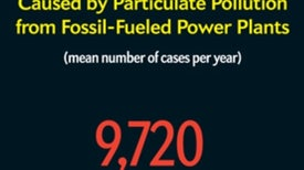 The Health Care Burden of Fossil Fuels