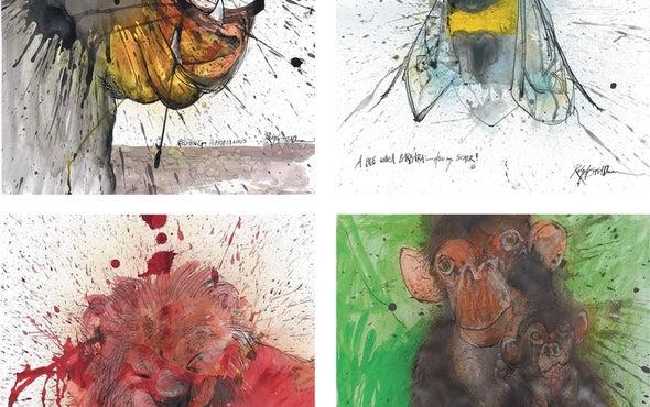"""拉尔夫斯特德曼的""""濒临灭绝的动物世界"""",碳自然史及其他新科学书籍"""