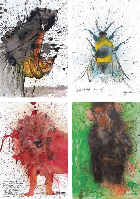 Ralph Steadman's World of Endangered Animals, a Natural History of Carbon and Other New Science Books