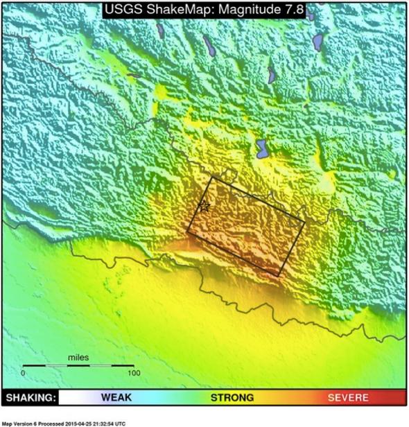 Major Earthquake Hits Nepal