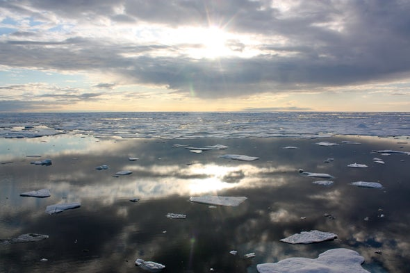 Sea Ice, Near Record Low, Is Not Rebounding