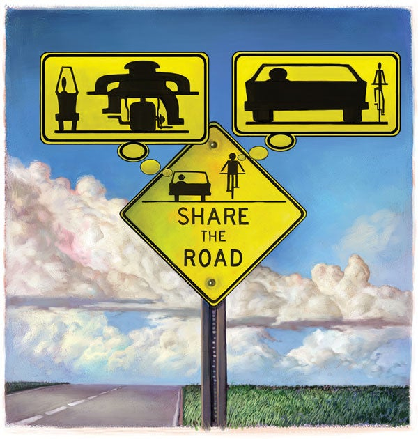 """Antibiotic Resistance"" and ""Share the Road"" Signs Can Be Grossly Misinterpreted"