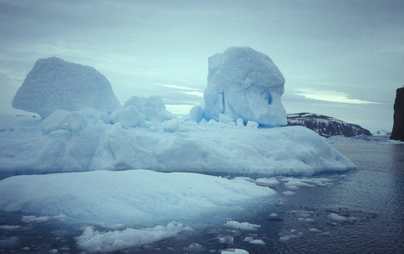 Antarctica Ice Shelf Is Breaking from the Inside Out