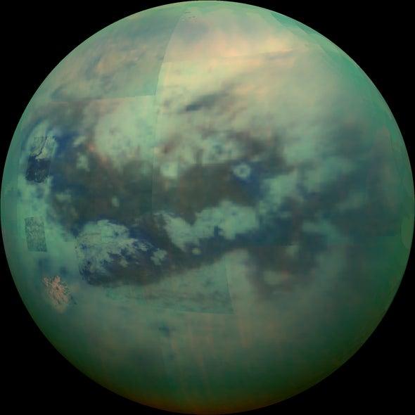 Gigantic Ice Formation Found on Saturn's Moon Titan