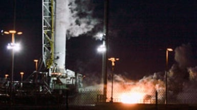 Commercial Space Race Heats Up as Antares Creeps Up on Falcon 9 Rocket