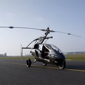 A Land-Air Hybrid Vehicle: Commute to Work Like <i>The Jetsons</i> [Video]