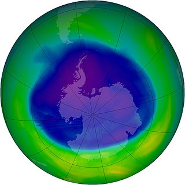 Mending Ozone Hole May Benefit Climate Change